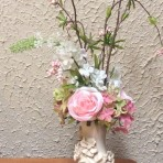 Small Victorian-Type Foral Centerpieces