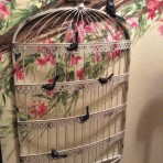 Bird Cage Seating Chart/Card/Memo Holder